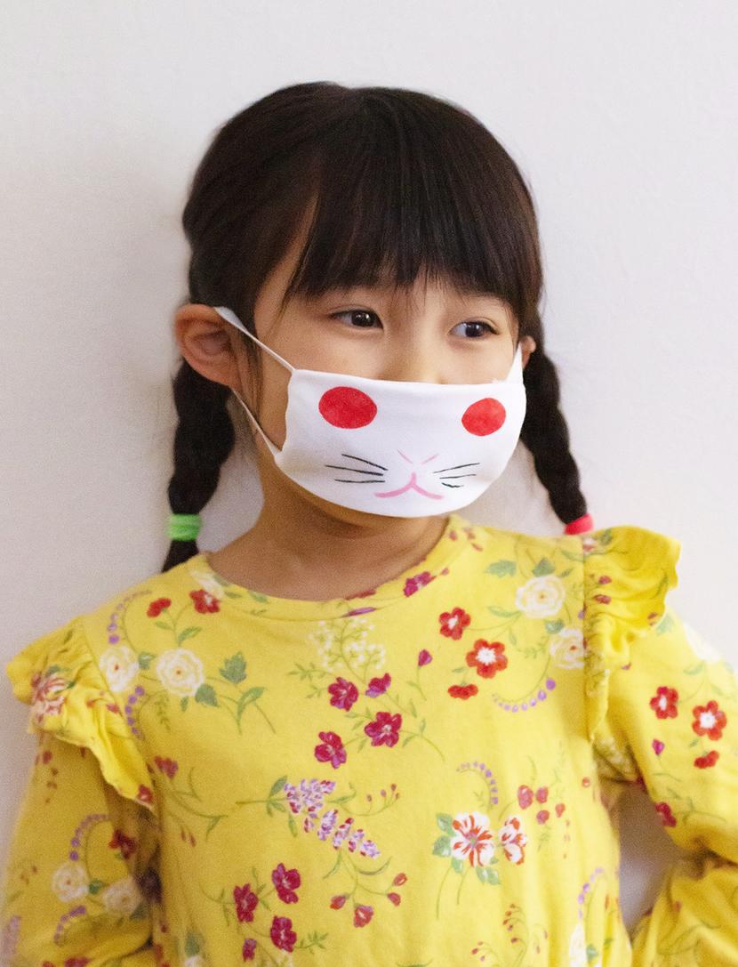 子供用手作りマスク